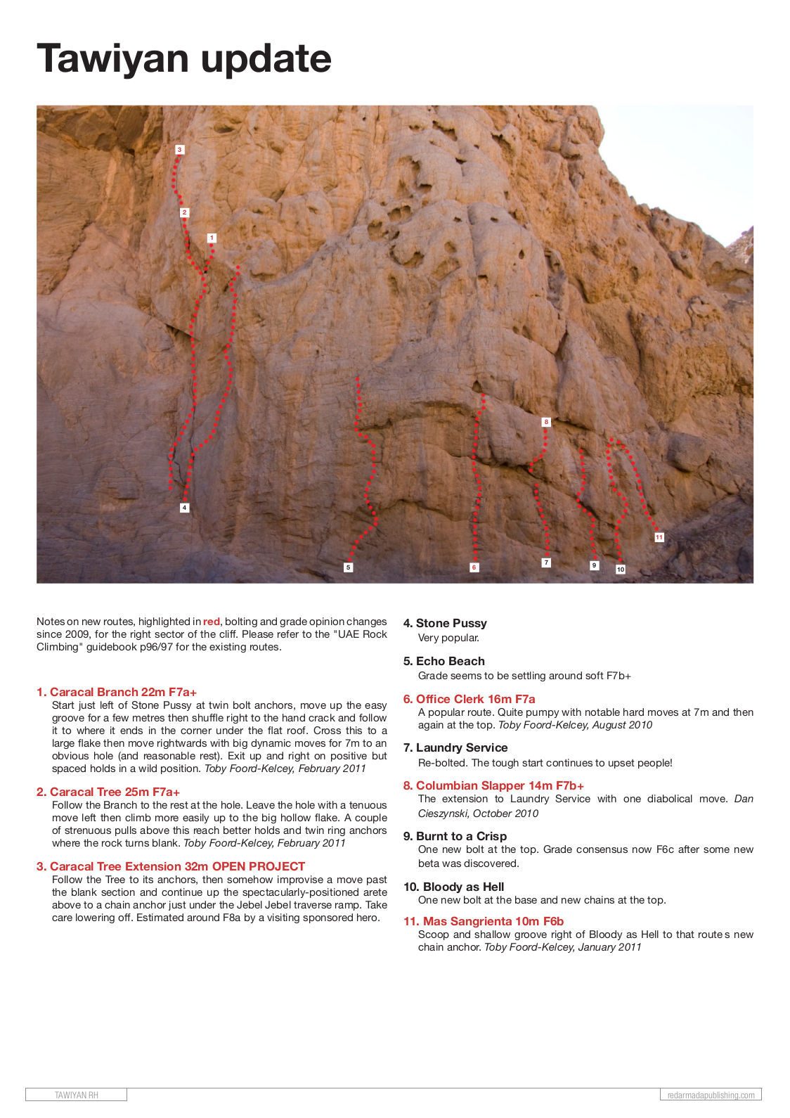 topo de Tawiyan de red Armada (Update du Guide des UAE)