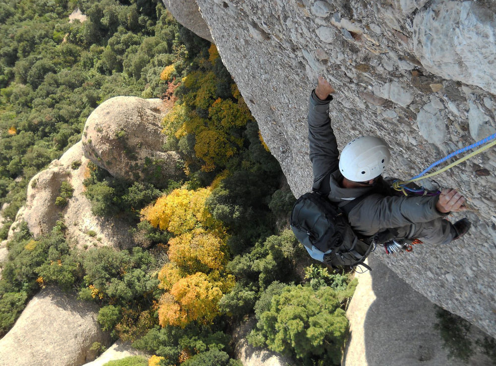 Via Iglesias-Casanovas a la Bessona Inferior, Montserrat, Espagne 2