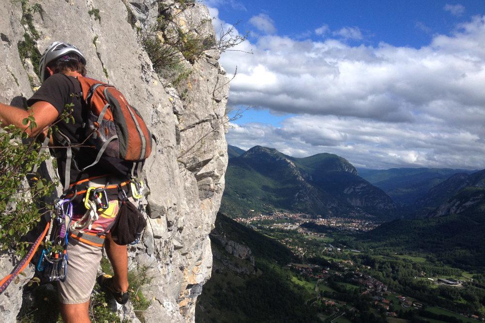 De Rioby à Rio au Pilier des Cathares, Ariège, France 2